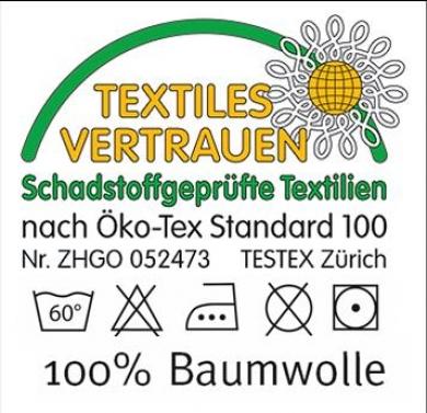 Risultati immagini per textiles vertrauen logo