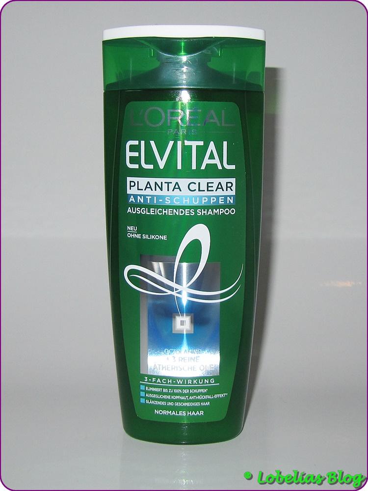 produkttest l or al elvital planta clear anti schuppen. Black Bedroom Furniture Sets. Home Design Ideas